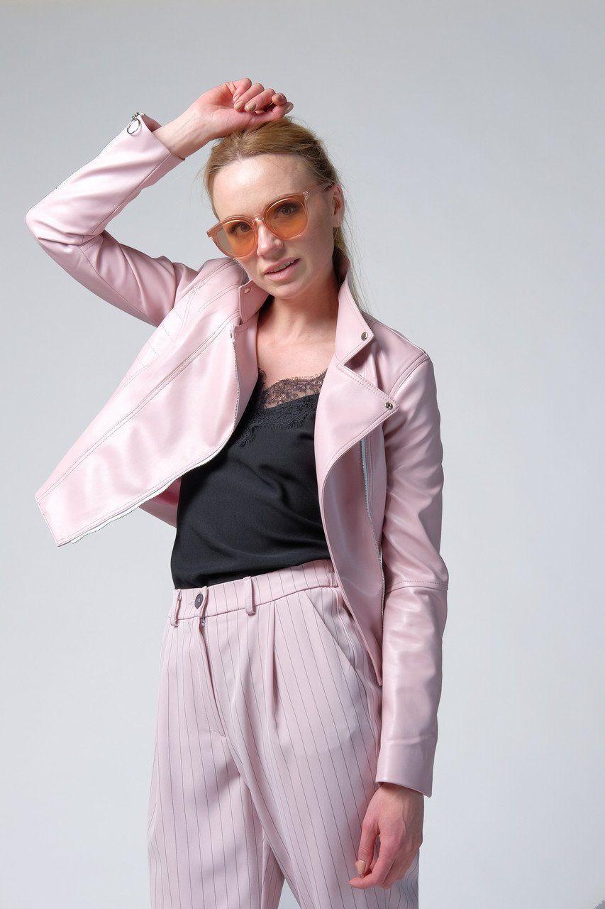 Косуха Pink еко-шкіра Колекція Baby Girl, Рожевий - SvitStyle